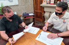 El Ayuntamiento de Jaén sella su patrocinio con el GAB Jaén
