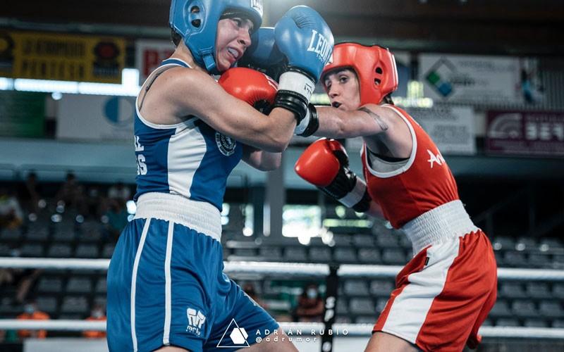 Oro para Martha López y plata para Carmen González en el Nacional de Boxeo