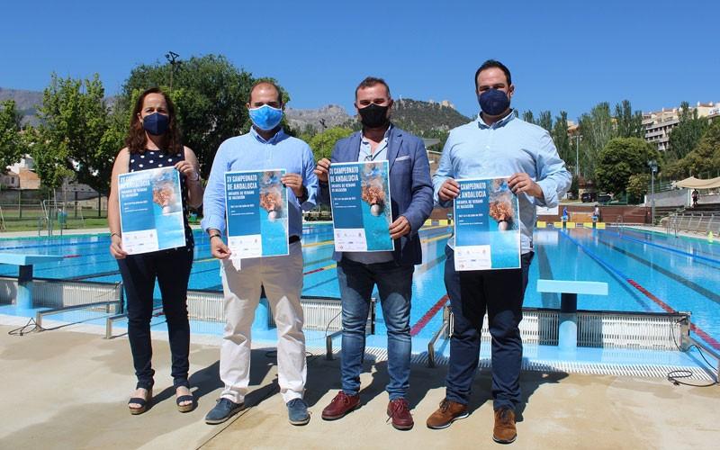 presentacion campeonato andalucia natacion infaitl