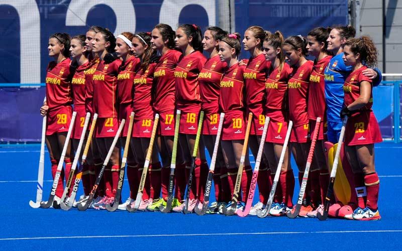 seleccion española femenina hockey hierba tokio 2020