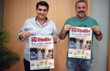 Unos 200 participantes se citarán en el XI Triatlón 'Villa del Agua' de Marmolejo