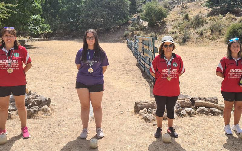 campeonas bolo andaluz montaña