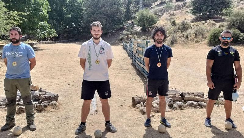 campeones bolo andaluz montaña