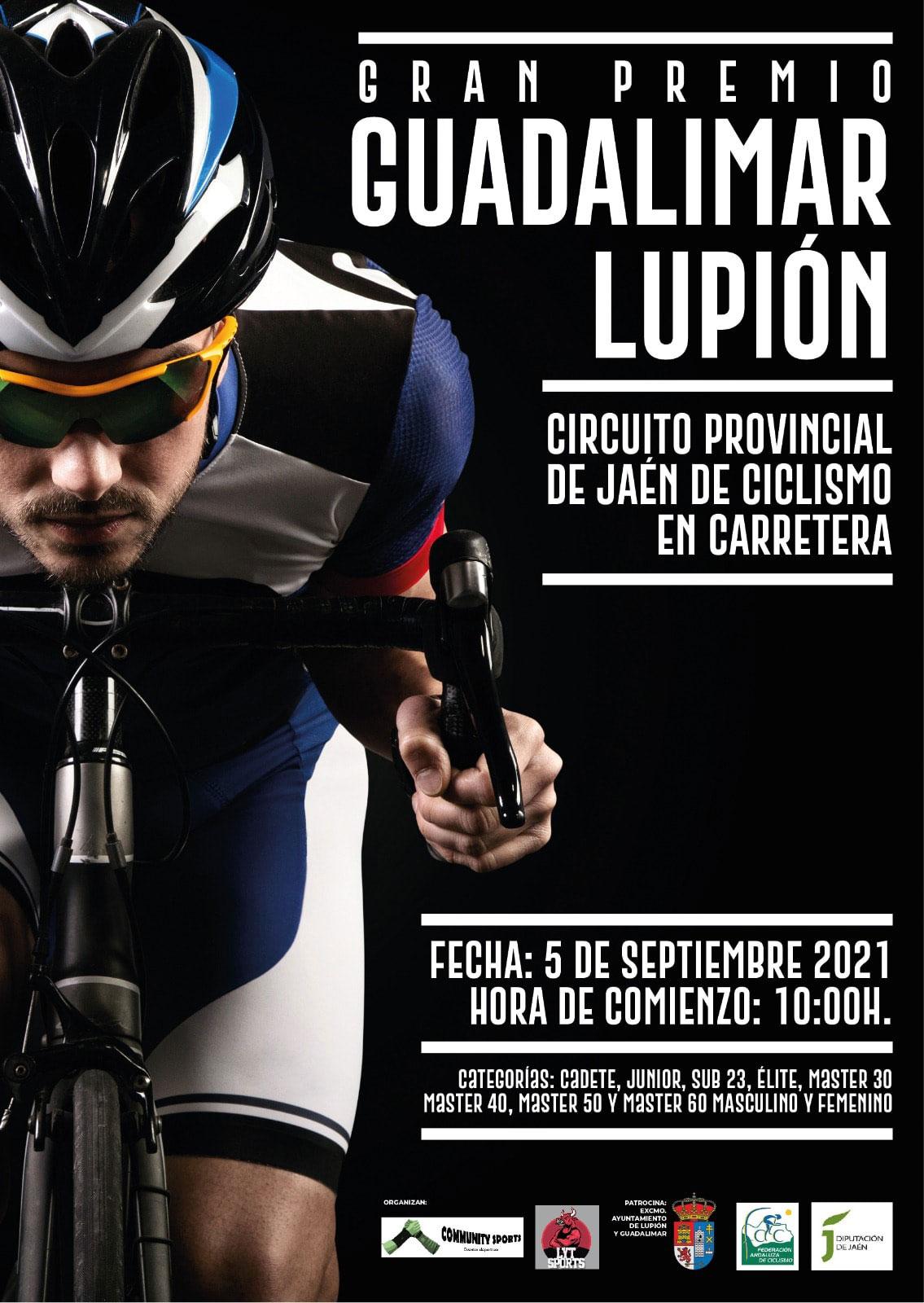 cartel lupion guadalimar circuito provincial jaen ciclismo carretera