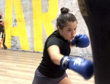 La boxeadora jiennense Corey Cobos, convocada para acudir al Plan de Tecnificación Nacional