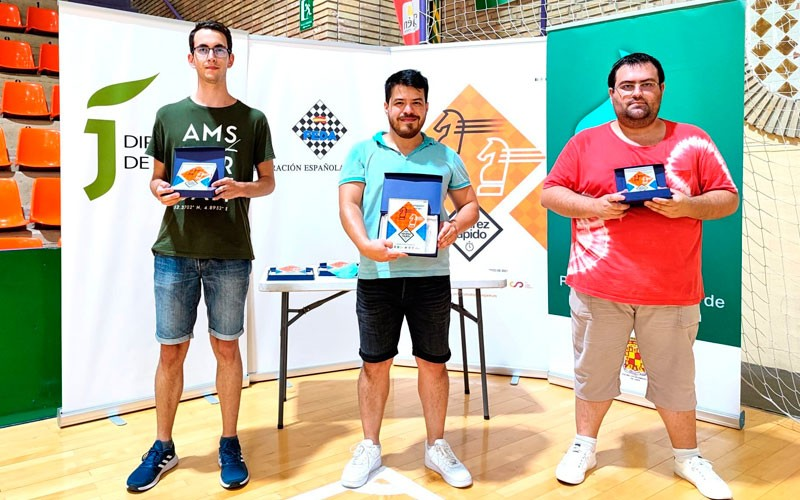 ganadores campeonato españa ajedrez rapido jaen 2021