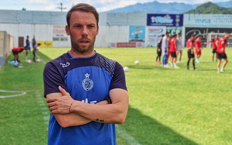 Juan Cortés arranca con un empate en la nueva temporada al frente de Metapán