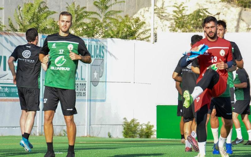 atletico mancha real entrenamiento