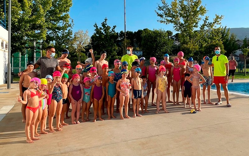 cursos natacion verano jaen