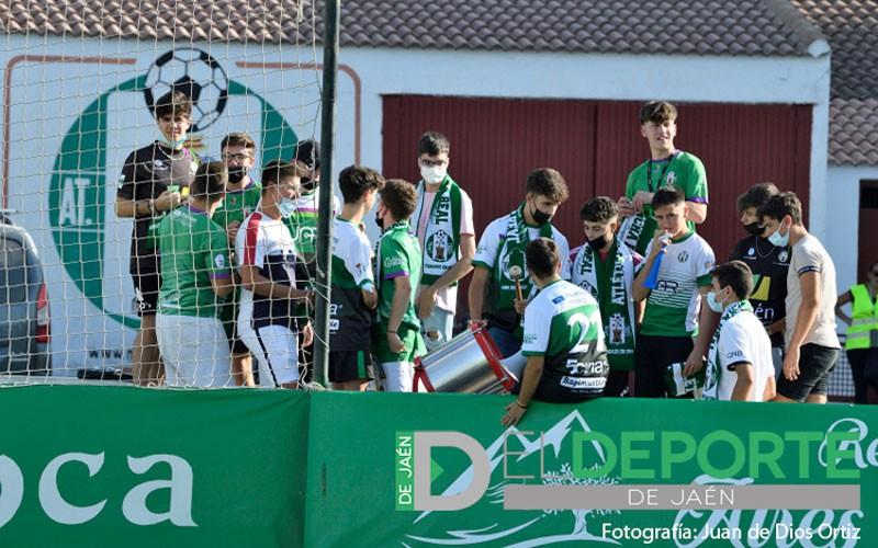 La afición en La Juventud (Atlético Mancha Real – CS Puertollano)