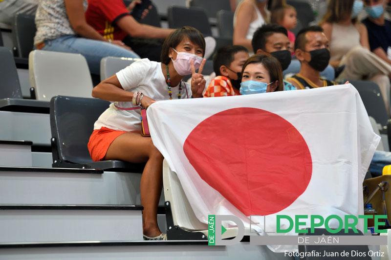 La afición en el Olivo Arena: España 2-0 Japón (fotogalería)