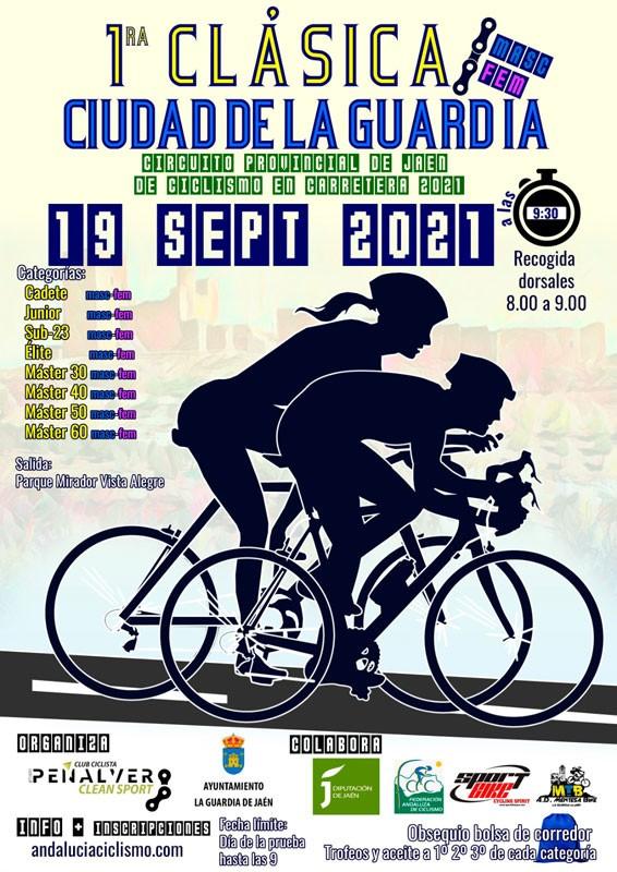 cartel clasica ciclista la guardia jaen