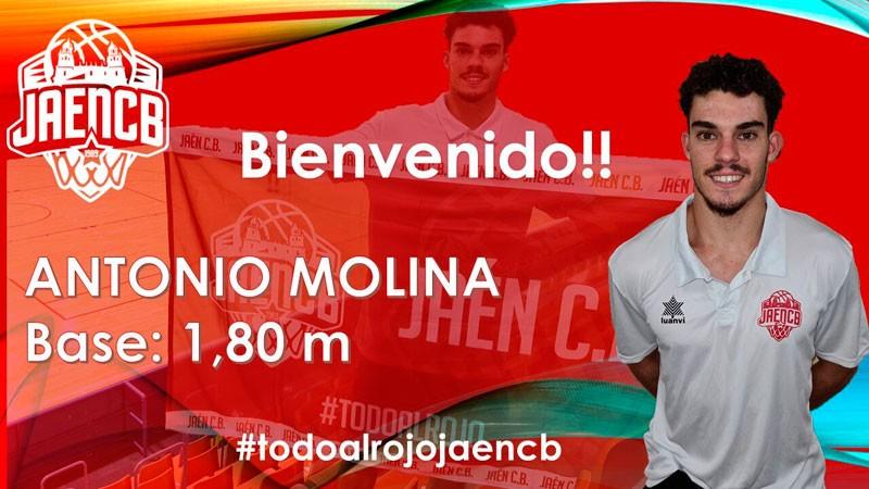 El Jaén CB suma un nuevo fichaje con la llegada de Antonio Molina