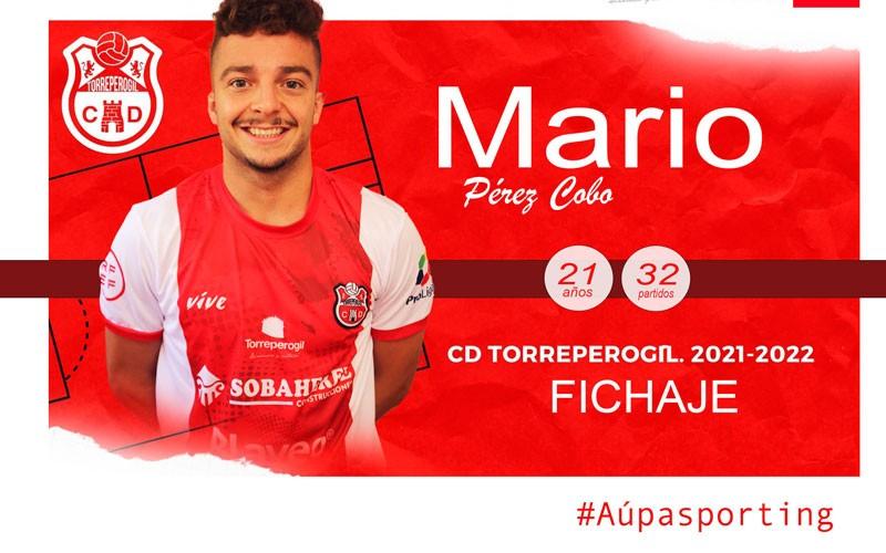 El joven Mario Pérez se une al proyecto del CD Torreperogil