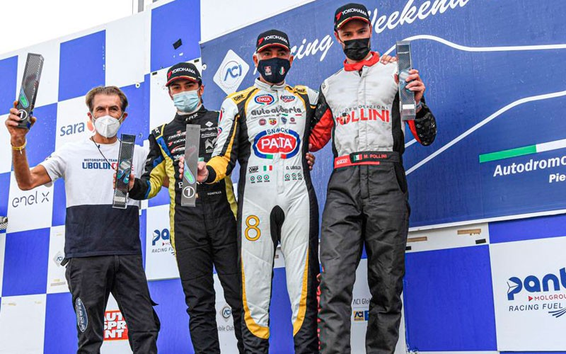 Fidel Castillo cierra la temporada del Sport Prototipos Italiano como quinto clasificado de la general
