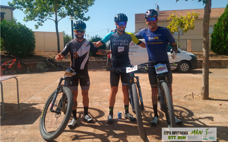 ganadores maraton btt la serrana