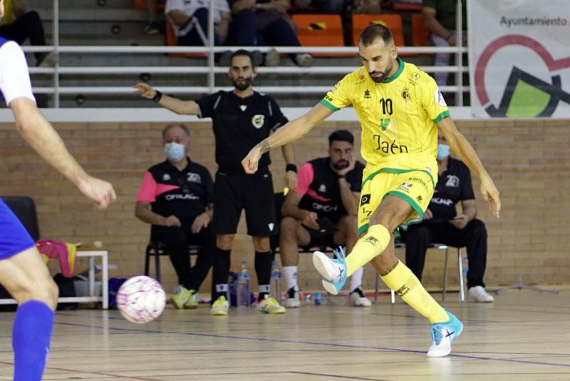 El Jaén FS cierra su pretemporada con un triunfo sobre el Manzanares