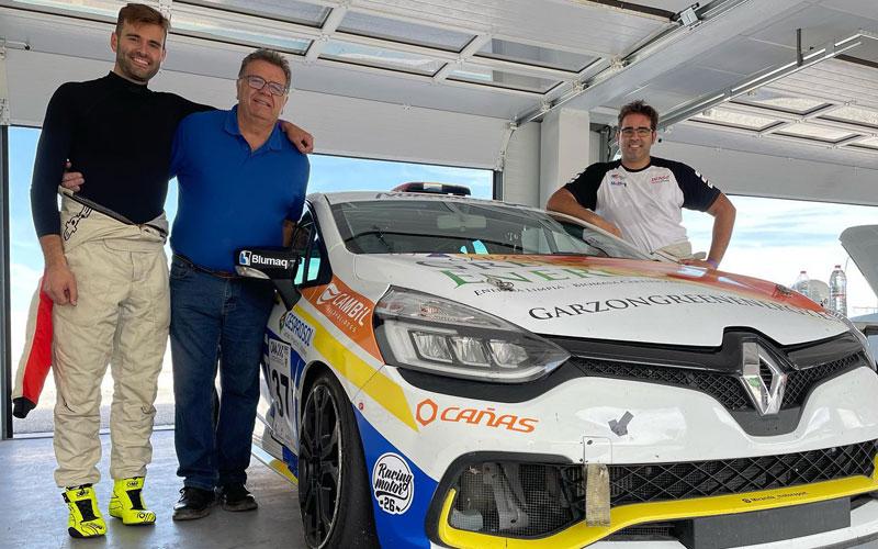 Javier Miranda concluye con éxito los test realizados en el Circuito de Guadix