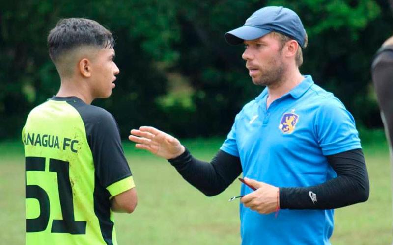juan cortes entrenador managua fc