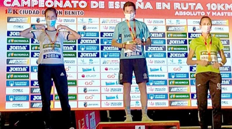 Lola Chiclana se proclama campeona de España F40 en los 10 km en ruta de Don Benito