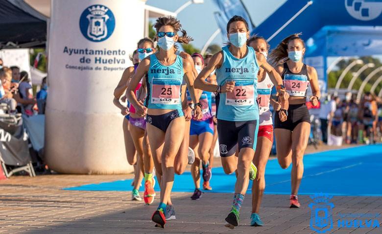 Lola Chiclana se proclama campeona de Andalucía en los 10 kilómetros de ruta de Huelva