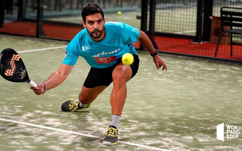 Antonio Luque finaliza su paso por el Lugo Open