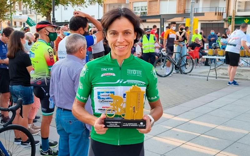 Esther Maqueda e Ignacio Rodríguez, los más rápidos en la crono de Torreperogil