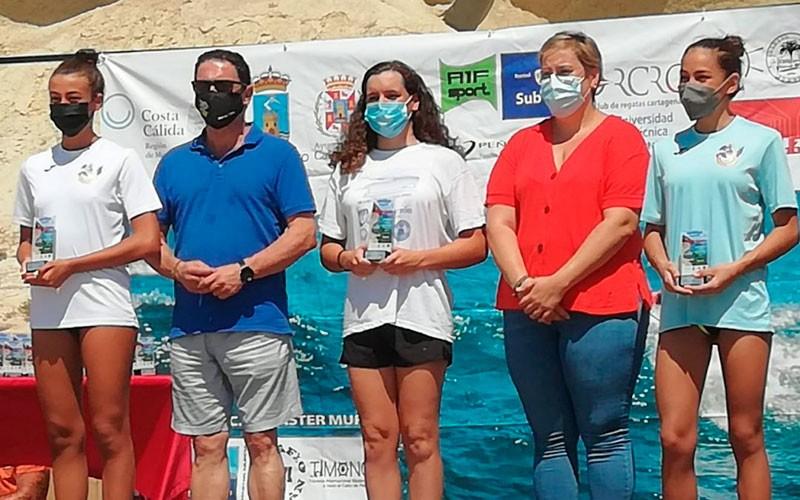 María de Gádor Luque sigue sumando éxitos en aguas abiertas