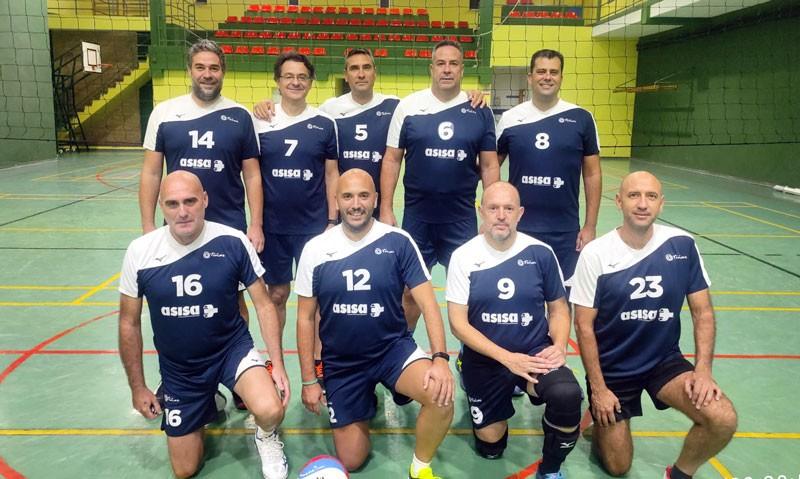 El CD Otíñar competirá en el Europeo de Veteranos de voleibol
