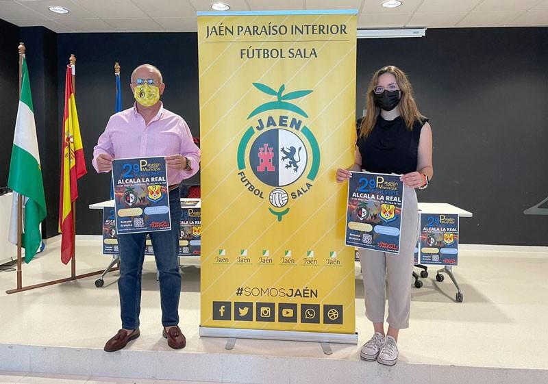 Alcalá la Real acogerá un amistoso entre Jaén Paraíso Interior FS y Manzanares