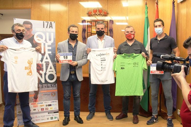 La XVII 'Subida al Quiebrajano' contará con la participación de 500 corredores