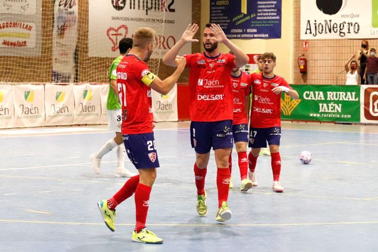 El Mengíbar FS empata ante el ETB Calvia con un hat-trick de Víctor Montes