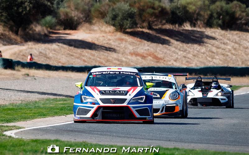 Los pilotos jiennenses, listos para competir en el Andaluz de Velocidad de Turismos