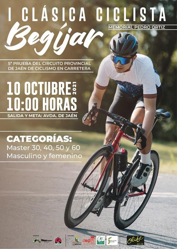 cartel clasica ciclista begijar jaen