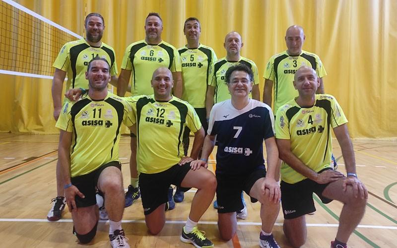 El CD Otíñar jugará la final del Torneo Europeo de Veteranos de voleibol
