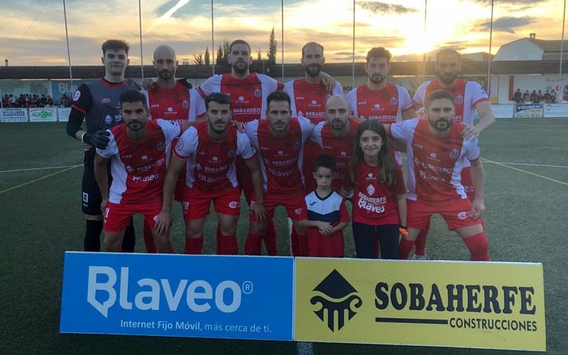 El esfuerzo del Torreperogil ante el Almería B se queda sin premio