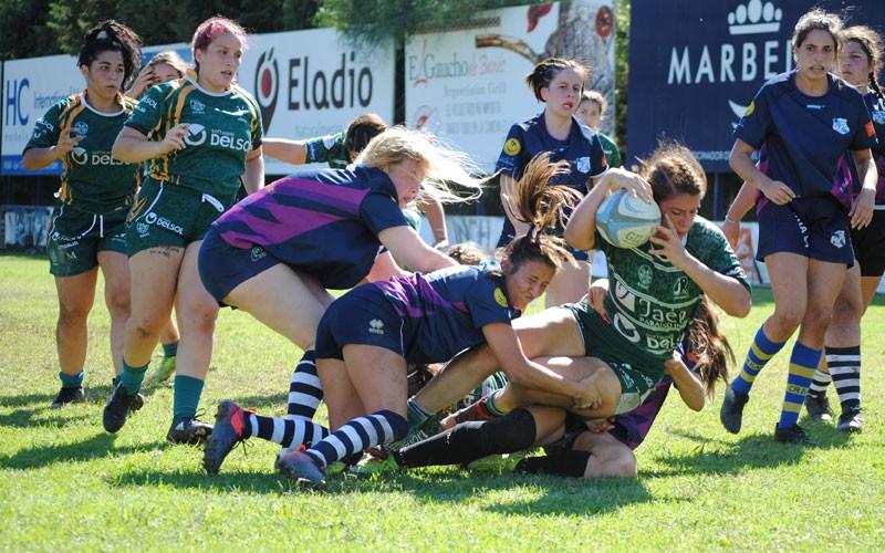 Segundo triunfo consecutivo para Jaén Rugby Femenino tras imponerse a CR Bahía'89