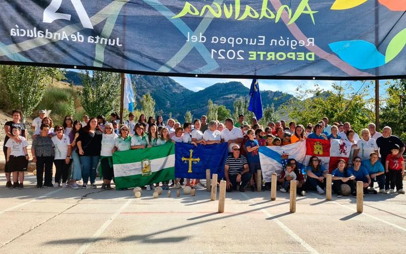 Galicia vence en un exitoso Intermodal Nacional de Bolos celebrado en Cazorla