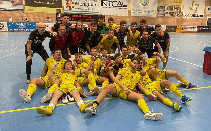 El Jaén FS B, campeón de la Copa Presidente de la Diputación de fútbol sala