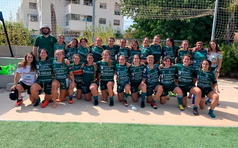 Victoria y bonus ofensivo para Jaén Rugby Femenino en el estreno liguero