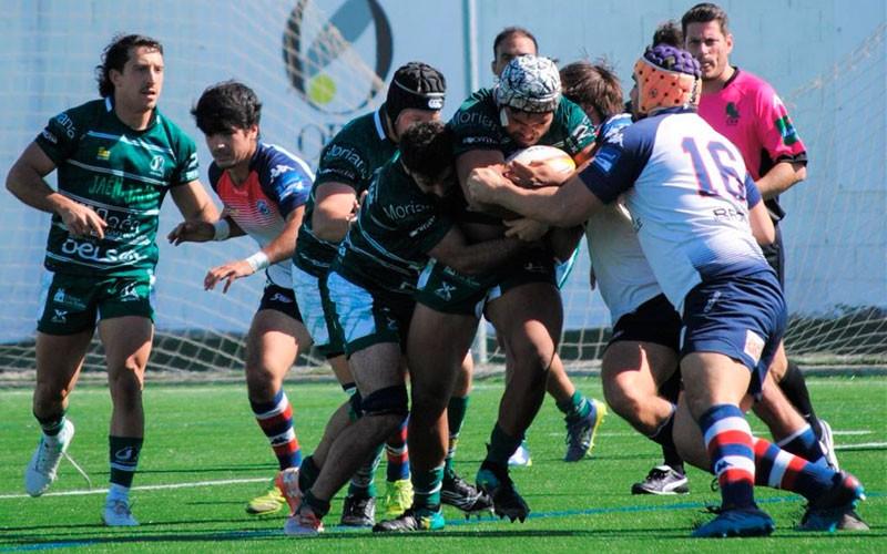 Triple ración de felicidad para Jaén Rugby en el estreno de Las Lagunillas