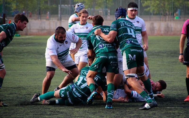 Sensaciones positivas del periplo del Jaén Rugby en Valencia