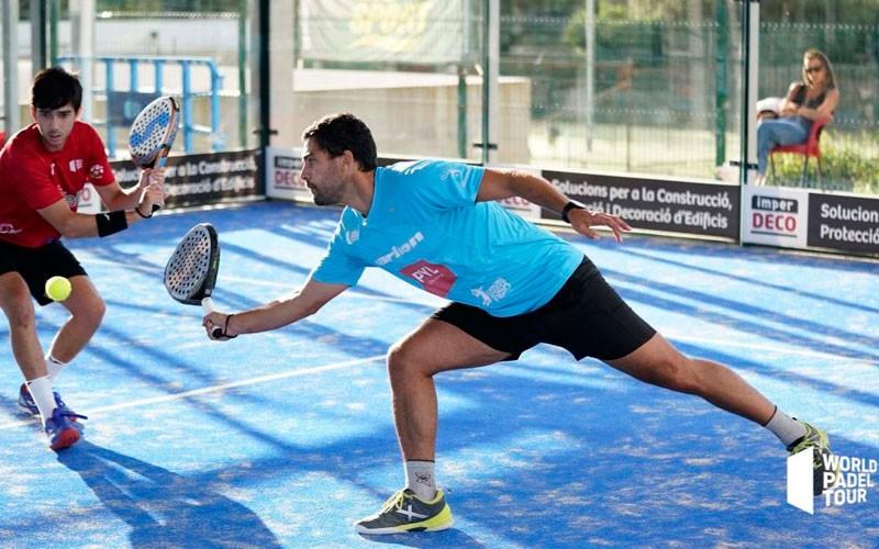 Antonio Luque avanza al cuadro final del Menorca Open y Porras cae eliminada