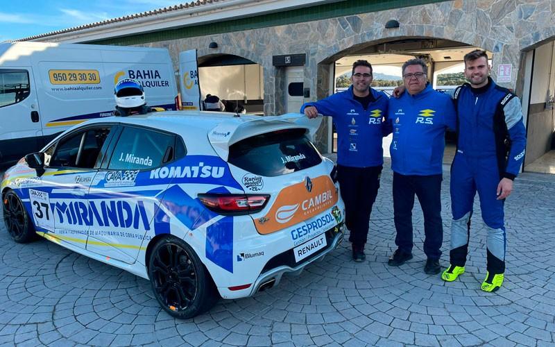 Los pilotos jiennenses destacan en la prueba del Andaluz de Velocidad de Ascari