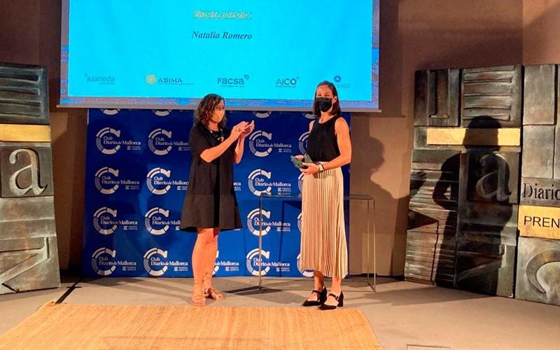 Natalia Romero, reconocida por el Diario de Mallorca