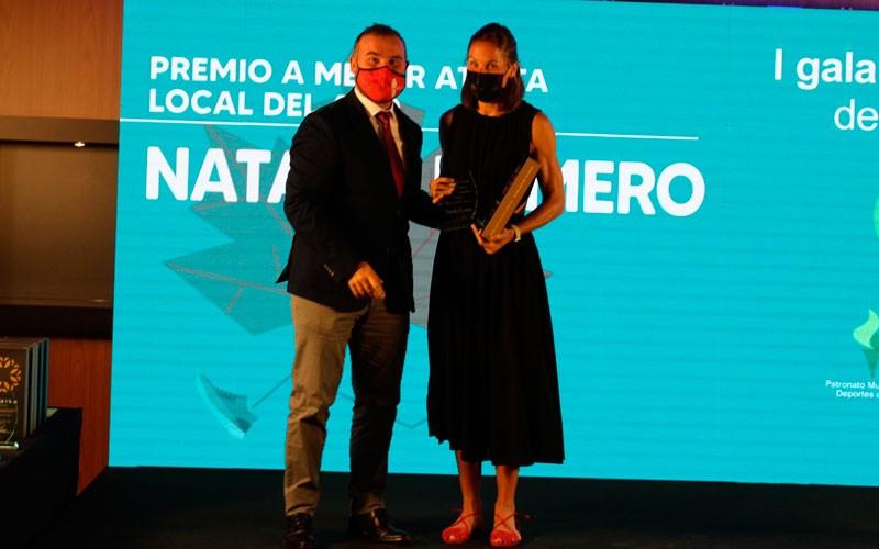 natalia romero premio gala nacional atletismo jaen