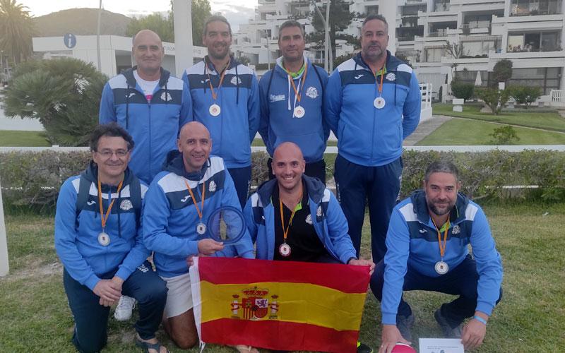 El CD Otíñar, subcampeón del Torneo Europeo de Veteranos de voleibol