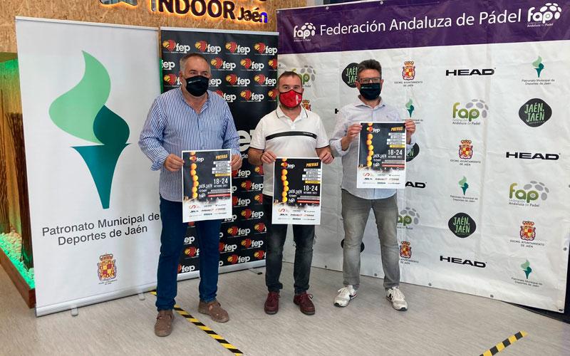 Jaén acoge la fase final del Nacional de pádel por Equipos de Veteranos